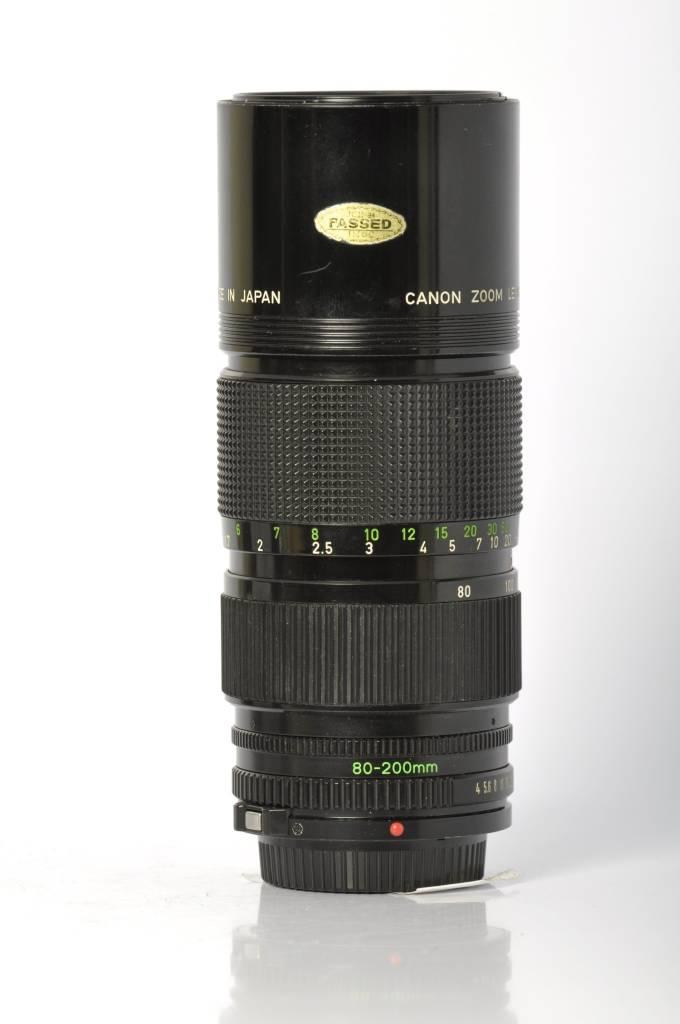 Canon Canon FD 80-200mm F4 SN:23619