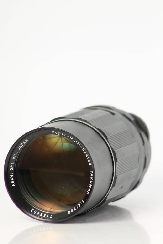 Pentax Pentax 200mm f/4 SN: 7168402