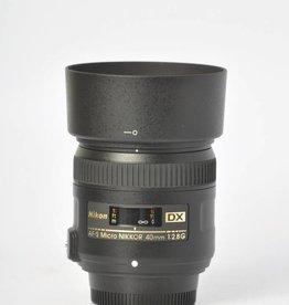 Nikon Nikon 40mm 2.8 Micro SN: 6038886