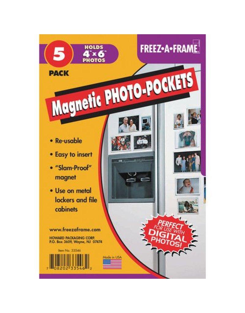Freeze-A-Frame Freeze-A-Frame flex Magnet 4x6 5 Pack