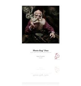 "Hahnemuhle Hahnemuhle Photo Rag Duo, 100 % Rag, Bright White Matte Inkjet Paper, Coated 2 Sides, 276 g/mA, 8.5x11"", 25 Sheets"