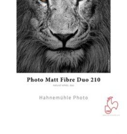 "Hahnemuhle Hahnemule Photo Matt Fiber Duo 210 13x19"" 25 sheet"