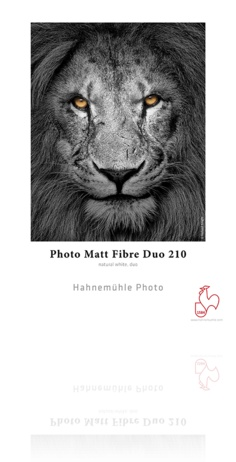 "Hahnemuhle Hahnemule Photo Matt Fiber Duo 210 13x19"" 25 sheet"