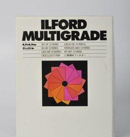 "Ilford Ilford Multigrade Filter Set 3.5x3.5"" USED"
