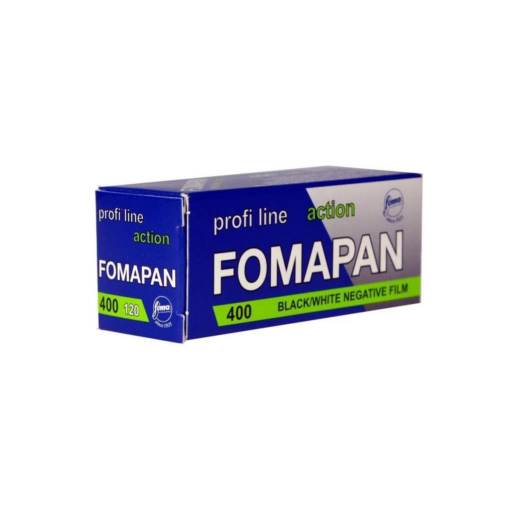 Foma Fomapan 400ASA Action 120 black and White
