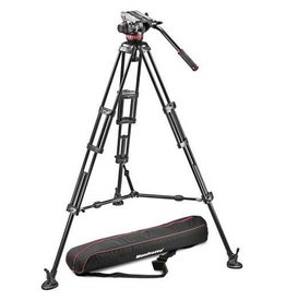 Manfrotto Manfrotto MVH502A 2-section Aluminum 546B Tripod with Pro Video Head, Black