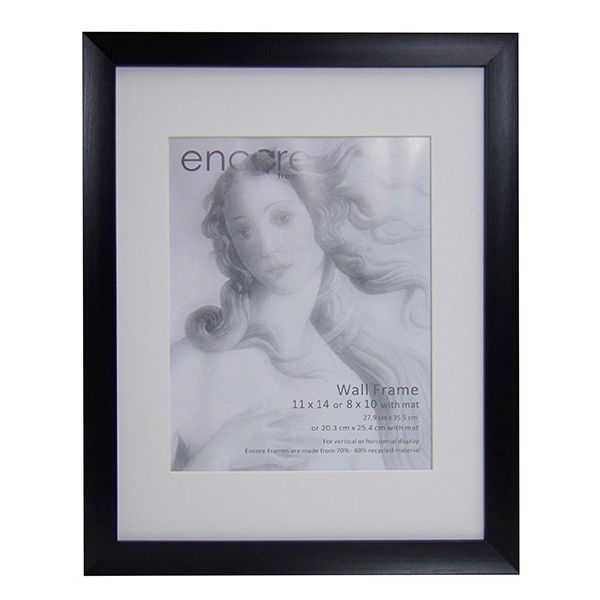 Larson Juhl Encore Brushed Black Scoop 8x10 Frame 5x7 Mat - LeZot ...