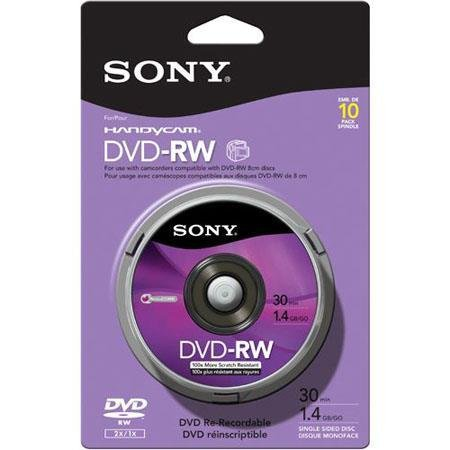 Sony Sony Mini DVD 10PK