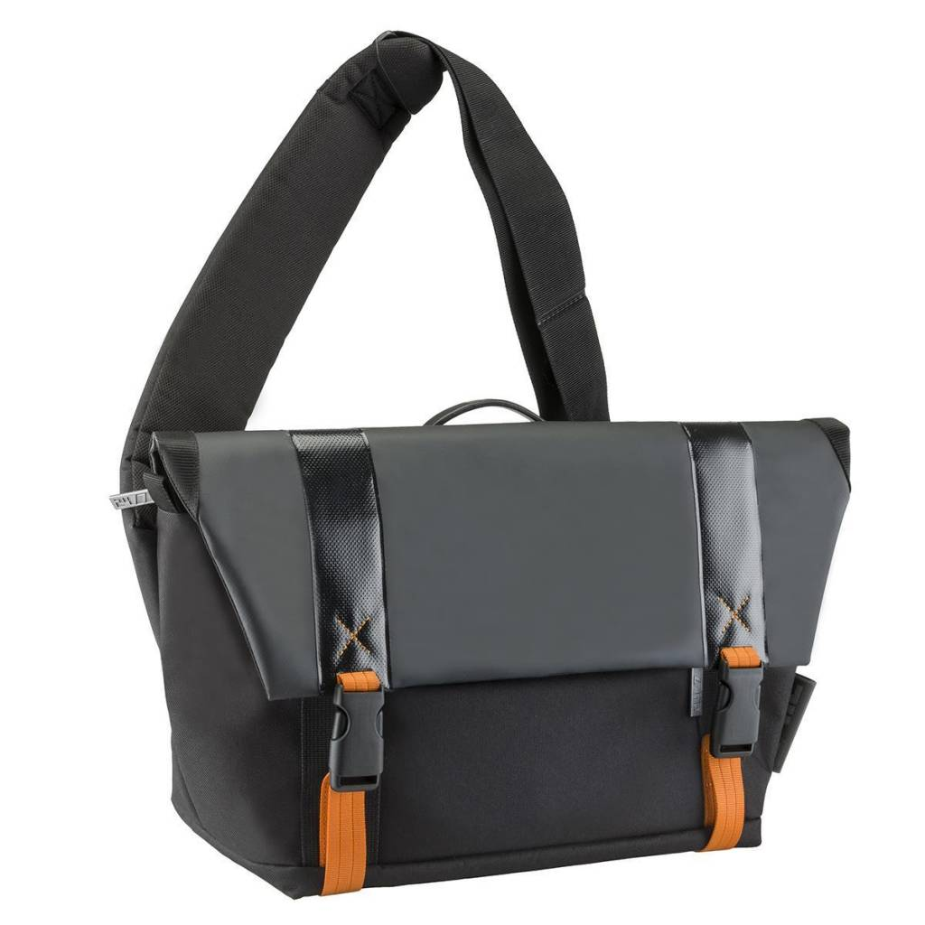 24/7 24/7 Traffic Collection DSLR Camera Messenger Bag with Adjustable/ Removable Strap & Built-In Weather Cover