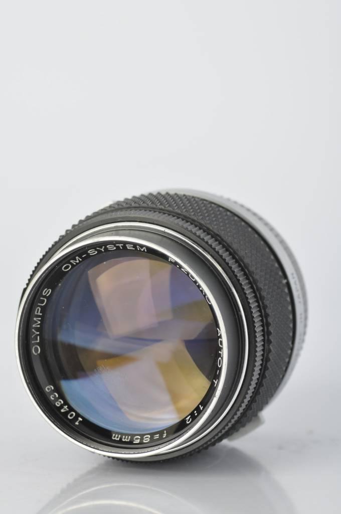 Olympus Olympus 85mm f/2 SN: 104839