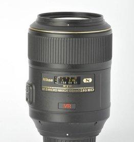 Nikon Nikon 105mm f/2.8 VR SN: 6016407