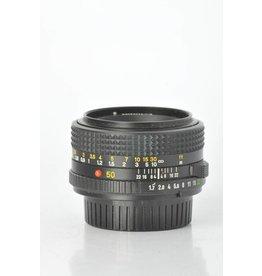 Minolta Minolta 50mm f/1.7 SN: 8187652