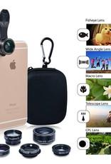 Apexel Apexel Cell phone lens 5 in 1 HD Camera Kit