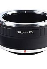 Nikon Lens to Fuji FX digital body | lens adapter