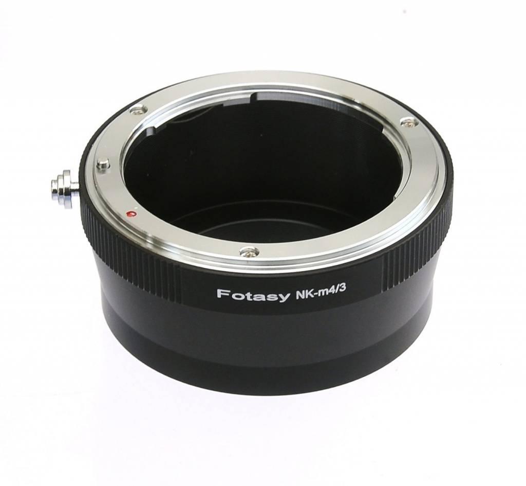 Nikon F Lens to MFT Micro four thirds M 4/3 Body adapter