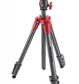 Manfrotto Compact Light Red Ball Head Tripod