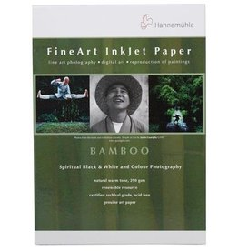 "Hahnemuhle Hahnemuhle Fine Art Bamboo Fiber Natural White, Smooth Warm Tone Inkjet Paper, 290gsm, 13x19"", 25 Sheets"