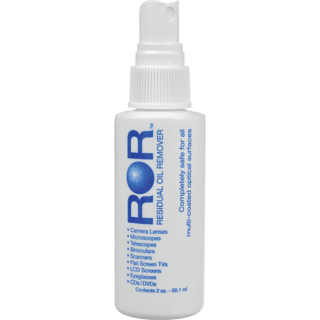 ROR Residual Oil Remover Lens Cleaner 2oz