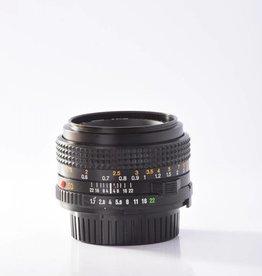 Minolta Minolta 50mm f/1.7 MD  *