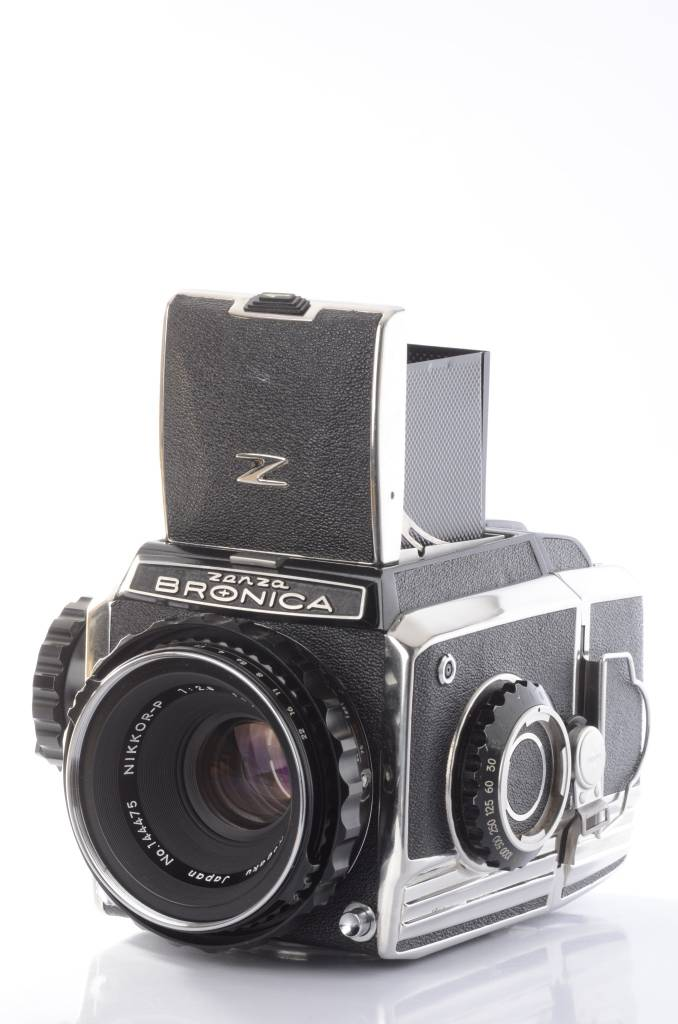 Bronica Bronica S2A kit with 75mm f/2.8  and WL