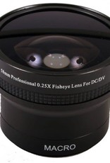 Fisheye Lens Adapter 58mm for Canon Kit Lens