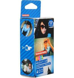 Lomography Lomography 400 Color Negative Film (35mm Roll Film, 36 Exposures, 3 Pack)
