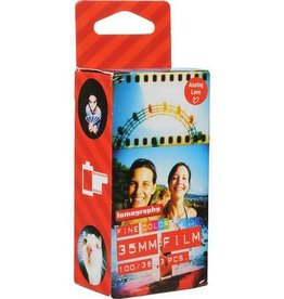 Lomography Lomography 100 Color Negative Film (35mm Roll Film, 36 Exposures, 3 Pack)