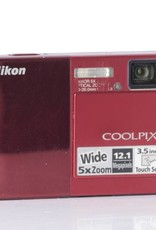 Nikon Nikon Coolpix S70 - red