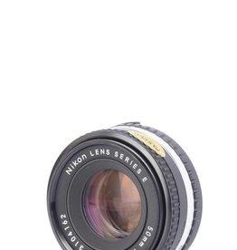 Nikon Nikon 50mm 1.8 Series E SN: 3104162