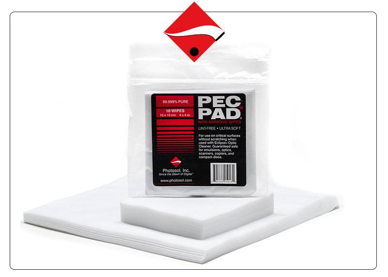 Photographic Solutions Pec Pad non-abrasive wipes Photographic Solutions 100ct