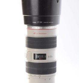 Canon Canon 70-200mm f/2.8L IS SN: 324423