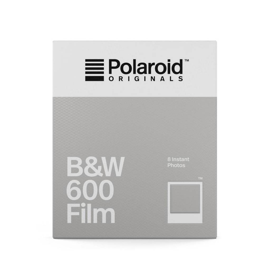 Impossible Project Polaroid Originals 600 Black & White Instant Film for 600 Cameras