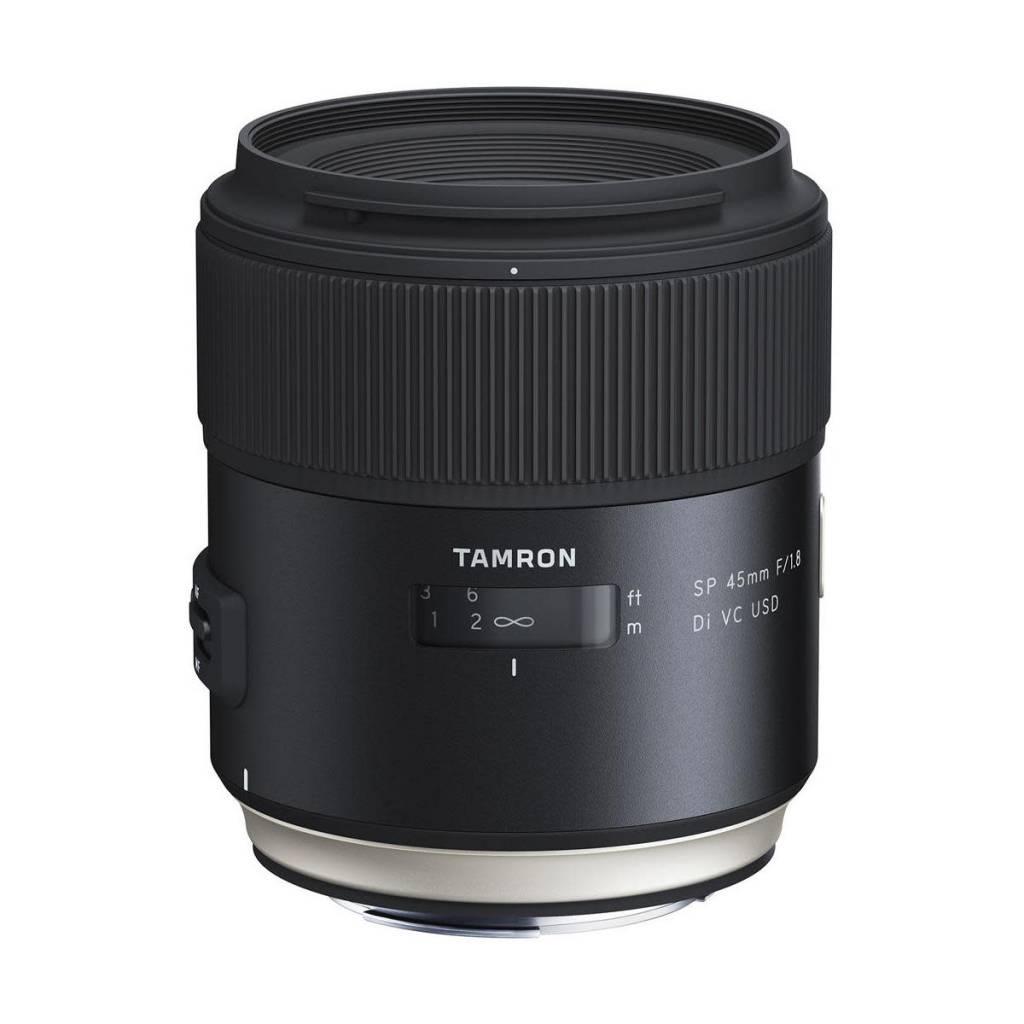 Tamron Tamron SP 45mm F/1.8 Di VC USD Lens for Nikon Full Frame Digital SLR Cameras - U.S.A. Warranty