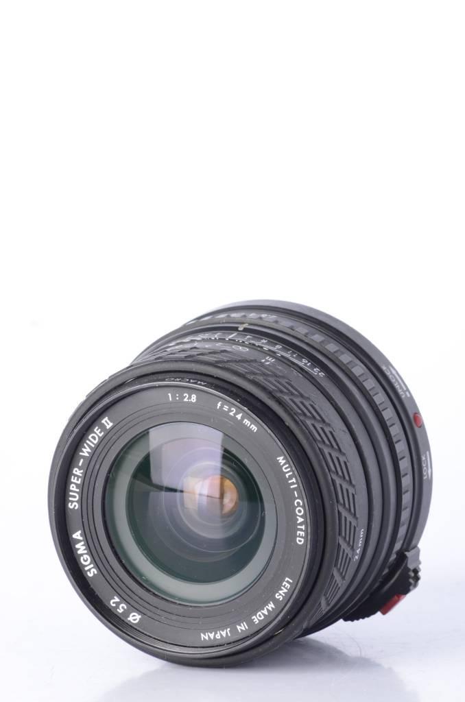 Sigma Sigma 24mm f/2.8 SN: 5119367