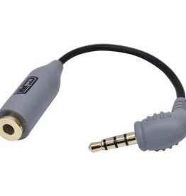 VidPro 3.5mm TRS to TRRS Microphone Adapter for Smartphones and Tablets