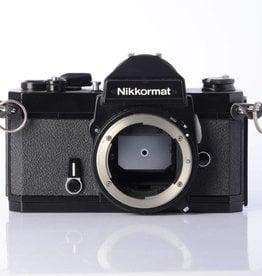 Nikon Nikkormat FT3 (black) SN: 6100800