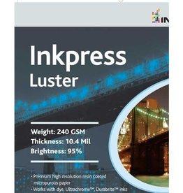 Inkpress Inkpress Lustre 8.5x11 50 Sheet Inkjet Paper