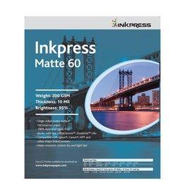 """Inkpress Inkpress Matte 60 8.5x11"""" 50 Sheet Inkjet Paper"""