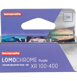 Lomography Lomography LomoChrome Purple XR 100-400 Color Negative 120 Film