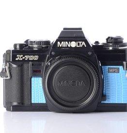 Minolta Minolta X700 (Blue Lizard) SN: 1956737