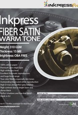 "Recognition Systems Inkpress |Fiber Satin Warm Tone 13x19"" 25 sheet"
