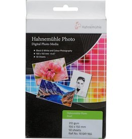 "Hahnemuhle Hahnemuhle Photo Pearl 310gsm 4"" x 6"", 50 sheets"