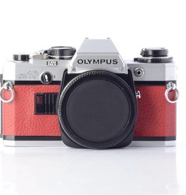 Olympus OM-10 SN: 1287636 - Red