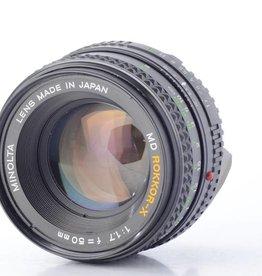 Minolta Minolta Rokkor-X 50mm f/1.7 SN: 2400787