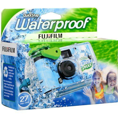 Fujifilm Fujifilm Quicksnap Waterproof 800 Disposable 35mm Single Use Film Camera