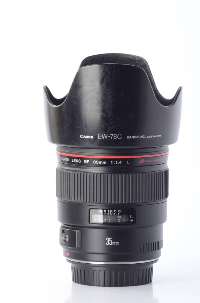 Canon Canon 35mm f/1.4 L EF Ultrasonic with EW-78C