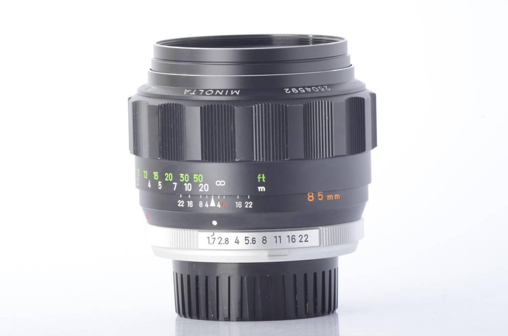 Minolta Minolta Rokkor-PF 85mm f/1.7 SN: 2504592