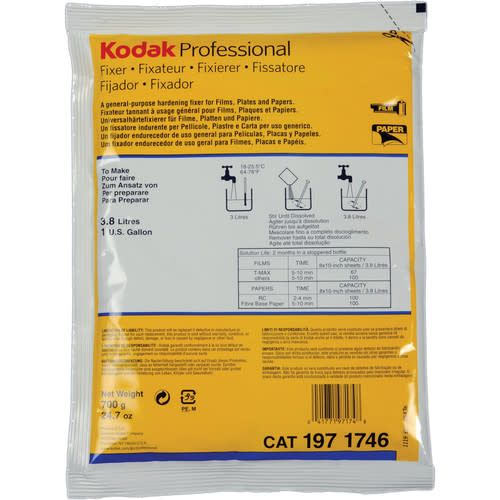 Kodak Kodak Fixer to make 1 Gallon