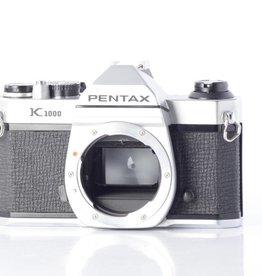 Pentax Pentax K1000 35mm Camera Body * Chrome