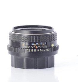 Pentax Pentax 50mm f/2 SMC M SN: 8271768